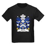 White Family Crest Kids Dark T-Shirt