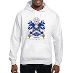 White Family Crest Hooded Sweatshirt