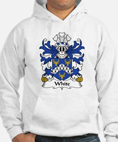 White Family Crest Hoodie