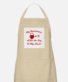My Guardsman holds the key to BBQ Apron