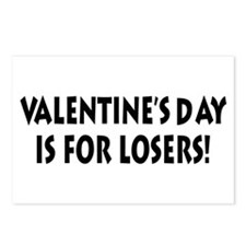 Valentine's Day Loser Postcards (Package of 8)