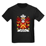 Watkins Family Crest  Kids Dark T-Shirt