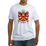 Watkins Family Crest  Fitted T-Shirt