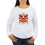 Watkins Family Crest  Women's Long Sleeve T-Shirt