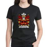 Waterton Family Crest Women's Dark T-Shirt
