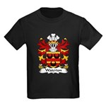 Waterton Family Crest Kids Dark T-Shirt