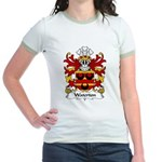 Waterton Family Crest Jr. Ringer T-Shirt