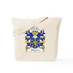 Warren Family Crest Tote Bag