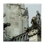 Paris gargoyle Tile Coasters