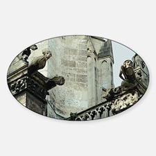 Gargoyles Oval Decal