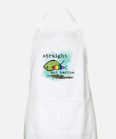 Straight But Not Narrow BBQ Apron
