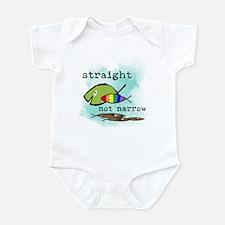 Straight But Not Narrow Infant Bodysuit