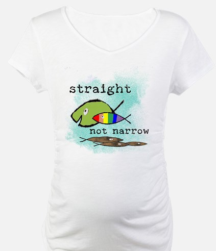 Straight But Not Narrow Shirt