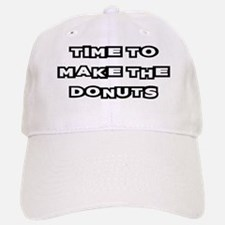 Make The Donuts Baseball Baseball Cap