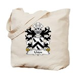 Urien Family Crest Tote Bag