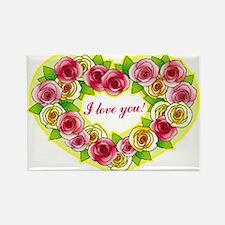 Valentines 24 Rectangle Magnet
