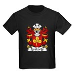 Umfreville Family Crest Kids Dark T-Shirt