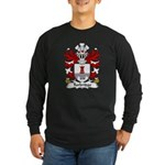 Turbridge Family Crest Long Sleeve Dark T-Shirt