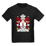 Turbridge Family Crest Kids Dark T-Shirt