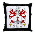Turbridge Family Crest Throw Pillow