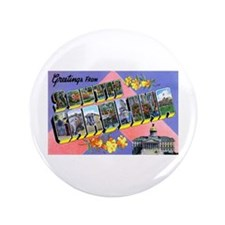 "South Carolina Greetings 3.5"" Button"