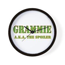 click to view Military Grammi Wall Clock