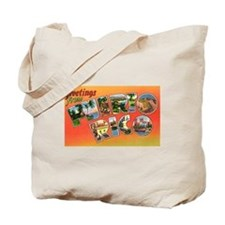 Puerto Rico Greetings Tote Bag
