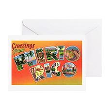 Puerto Rico Greetings Greeting Card