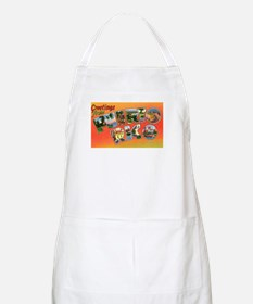 Puerto Rico Greetings BBQ Apron
