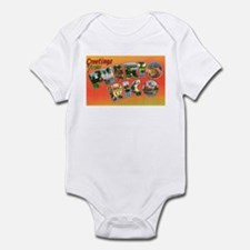 Puerto Rico Greetings Infant Bodysuit