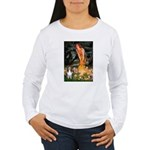 MidEve Sheltie (S) Women's Long Sleeve T-Shirt