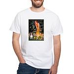MidEve Sheltie (S) White T-Shirt