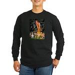 MidEve Sheltie (S) Long Sleeve Dark T-Shirt
