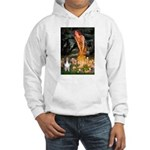 MidEve Sheltie (S) Hooded Sweatshirt