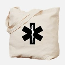 EMS Star of Life Tote Bag