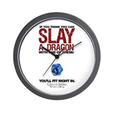 Cute Slay logo Wall Clock