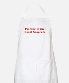Usual Suspects 2 BBQ Apron