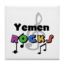 Yemen Rocks Tile Coaster