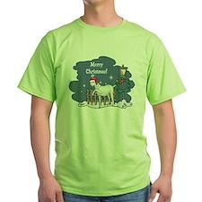 Santa Goat Christmas T-Shirt