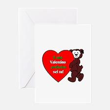 Italian Valentine Day Greeting Card
