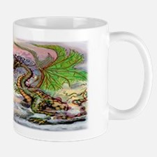 Unique Fighting dragons Mug