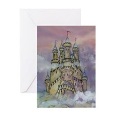 Cute Sand castle Greeting Card