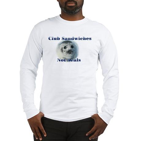 Club Sandwiches Long Sleeve T-Shirt