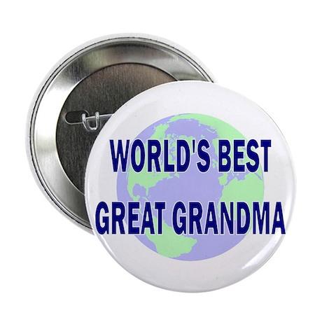 "World's Best Great Grandma 2.25"" Button (100 pack)"