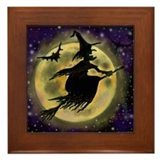 Unique Trick or treat Framed Tile