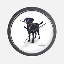 STICK CHASER Wall Clock