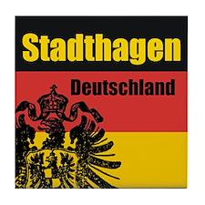 Stadthagen Deutschland  Tile Coaster