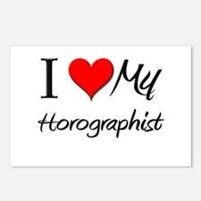 I Heart My Horographist Postcards (Package of 8)