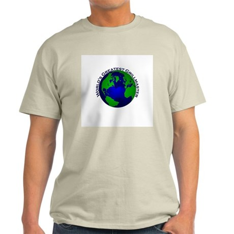 World's Greatest Grillmaster Light T-Shirt