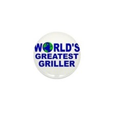 World's Greatest Griller Mini Button